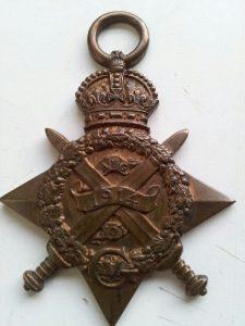 The 1914 Star of Robert Arthurs