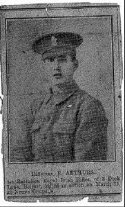 Rifleman Robert Arthurs